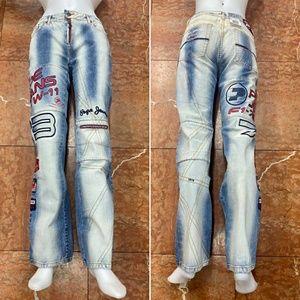 Women's Pepe Jeans Stonewashed Denim Pants